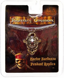Master Replicas Pirates of the Caribbean Prop Replica Hector Barbossa's Pendant Necklace