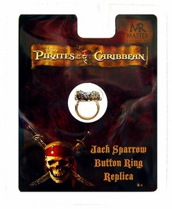Master Replicas Pirates of the Caribbean Prop Replica Jack Sparrow's Button Ring