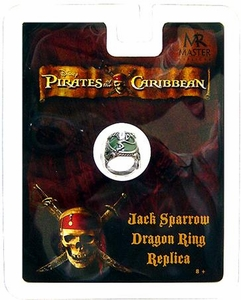 Master Replicas Pirates of the Caribbean Prop Replica Jack Sparrow's Dragon Ring
