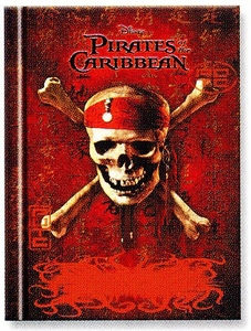 Pirates of the Caribbean Personalized Diary Journal (Skull & Bones Cover)