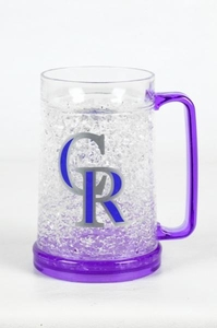 Colorado Rockies Crystal Mug