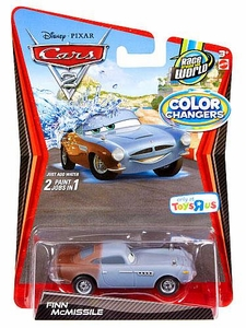 Disney / Pixar CARS 2 Movie 1:55 Exclusive Color Changers Finn McMissile