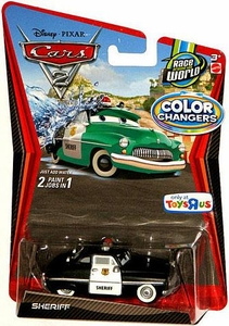 Disney / Pixar CARS 2 Movie 1:55 Exclusive Color Changers Sheriff