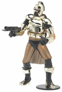 Battlestar Galactica Action Figures Series 2 Cylon Commander [Gold Armor]