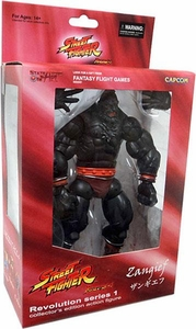 Sota Toys Street Fighter Exclusive Revolution Series 1 Action Figure Metal Mecha Zangief