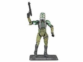 Star Wars Saga 2008 30th Anniversary Wave 1 Action Figure #03 Commander Gree