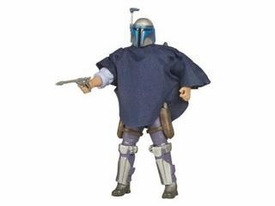 Star Wars Saga 2008 30th Anniversary Wave 1 Action Figure #57 Jango Fett With Poncho [2007 Re-release]