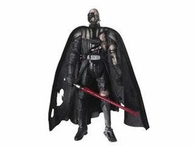 Star Wars Saga 2008 30th Anniversary Wave 2 Action Figure #12 Battle Damaged Darth Vader [Force Unleashed]