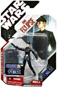 Star Wars Saga 2008 30th Anniversary Wave 2 Action Figure #15 Juno Eclipse [Force Unleashed]