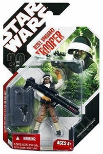 Star Wars 30th Anniversary Saga 2008 Star Wars Expanded Universe Action Figure Rebel Vanguard Trooper