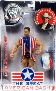 WWE Wrestling Great American Bash Pay Per View Action Figure John Bradshaw Layfield in Wrestling Outfit [Damaged Packaging, Mint Contents] Damaged Package, Mint Contents!