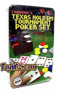 Cardinal's Texas Hold'em Tournament Poker Set BLOWOUT SALE!