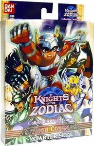 Knights of the Zodiac Collectible Card Game Perilous Conquest Deck BLOWOUT SALE!