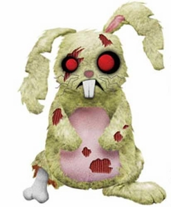 Mezco Toyz Zombies Creepy Cuddlers Series 2 Plush Lucky