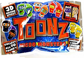 Toonz Micro Monsters Booster Pack [3 Toonz Figures] BLOWOUT SALE!