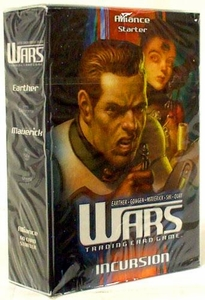 WARS Trading Card Game Incursion Starter Deck Alliance BLOWOUT SALE!