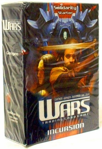 WARS Trading Card Game Incursion Starter Deck Solidarity BLOWOUT SALE!