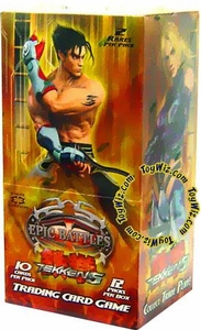Epic Battles Card Game Tekken 5 Booster BOX [12 Packs]