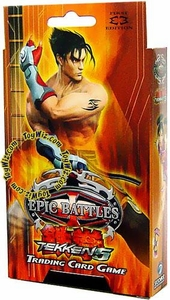 Epic Battles Card Game Tekken 5 Jin Pre-Constructed Starter Theme Deck