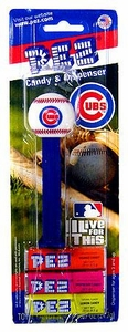 PEZ Dispenser & Candy Chicago Cubs