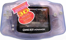 Nintendo Game Boy Advance Candy Container Translucent Purple