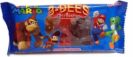 Nintendo Super Mario Gummy Candy Pack 3 Dees