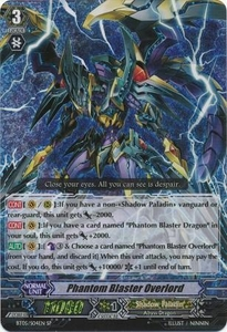 Cardfight Vanguard ENGLISH Awakening of Twin Blades Single Card SP Rare BT05-S04EN Phantom Blaster Overlord
