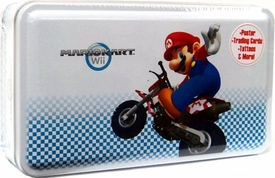 Super Mario Kart Wii Enterplay Trading Card Collector's Tin [Mario Cover]