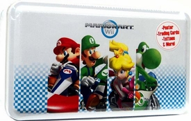 Super Mario Kart Wii Enterplay Trading Card Collector's Tin [Mario, Luigi, Princess, Yoshi Cover]