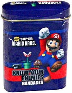 New Super Mario Brothers Know Your Enemies Bandages