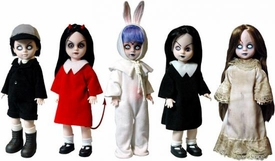 Mezco Toyz Living Dead Dolls 13th Anniversary Set of 5 Figures [Sadie, Posey, Sin, Eggzorcist & Damien]
