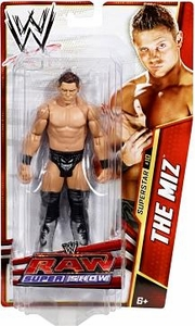 Mattel WWE Wrestling Basic Series 25 Action Figure #10 The Miz