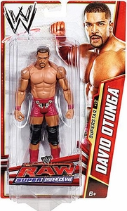 Mattel WWE Wrestling Basic Series 25 Action Figure #12 David Otunga