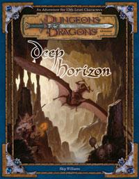 D&D Dungeons & Dragons Core Accessory Adventure Deep Horizon