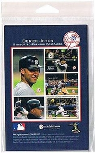 MLB New York Yankees Derek Jeter Set of 5 Postcards