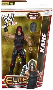 Mattel WWE Wrestling Elite Series 19 Action Figure Kane [with Mask!]