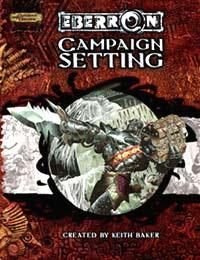 D&D Dungeons & Dragons Rulebook Campaign Setting Eberron
