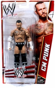 Mattel WWE Wrestling Basic Signature Series 2012 Action Figure CM Punk BLOWOUT SALE!
