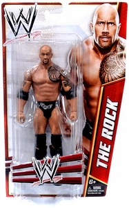Mattel WWE Wrestling Basic Signature Series 2012 Action Figure The Rock BLOWOUT SALE!