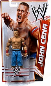 Mattel WWE Wrestling Basic Signature Series 4 Action Figure John Cena