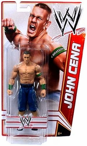 Mattel WWE Wrestling Basic Signature Series 2012 Action Figure John Cena [Tall Package] BLOWOUT SALE!