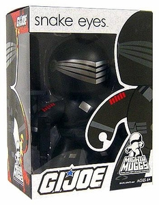 GI Joe Wave 1 Mighty Muggs Figure Snake Eyes
