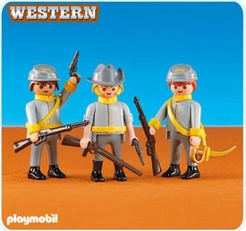 Playmobil Western Set #6276 Confederate Soldiers