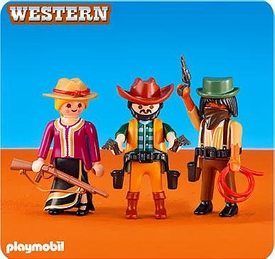 Playmobil Western Set #6278 2 Cowboys & Cowgirl