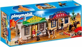 Playmobil Western Set #4398 My Take Along Western City