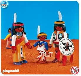 Playmobil Western Set #7841 Native American Family