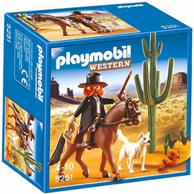 Playmobil Western Set #5251 Sheriff & Horse