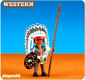 Playmobil Western Set #6271 Native American Chief