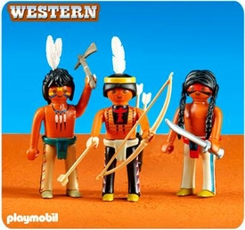 Playmobil Western Set #6272 Native American Warriors