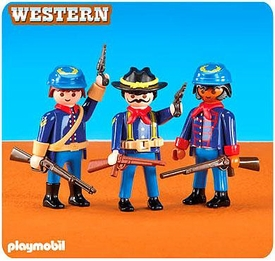 Playmobil Figures Set #6274 3 Union Soldiers II